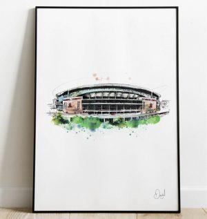 Arsenal FC - Emirates Stadium art print
