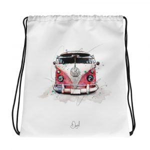 Volkswagen Type 2 – Bus People, Drawstring bag