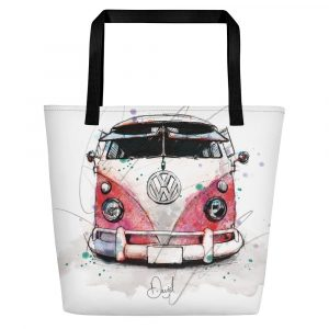 Volkswagen Type 2 – Bus People, Beach Bag