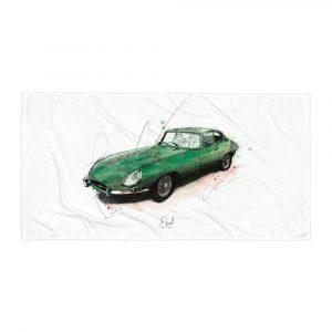 Jaguar E-Type - E's and Whizz, Towel