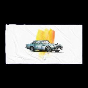 Aston Martin DB5 - Goldfinger, Towel