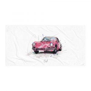 Porsche 911 - Guards Red, Towel
