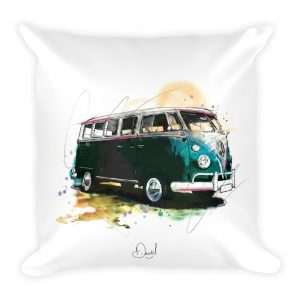 Volkswagen Campervan - Camped Out, Cushion