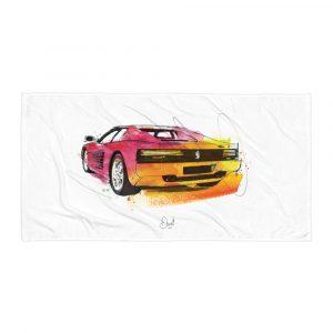 Ferrari Testarossa - Looking Back, Towel