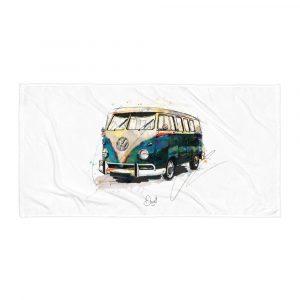 Volkswagen Campervan - Bussing it, Towel