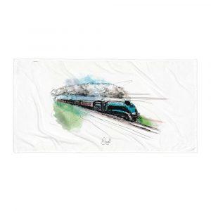 LNER Mallard - Streak, Towel