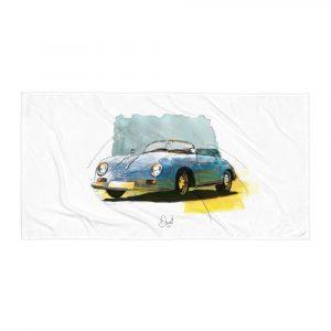 Porsche 356 - Speedster, Towel