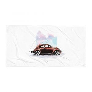 Volkswagen Beetle - Bugged out, Towel