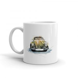 Volkswagen Beetle - What's bugging you, Ceramic Mug