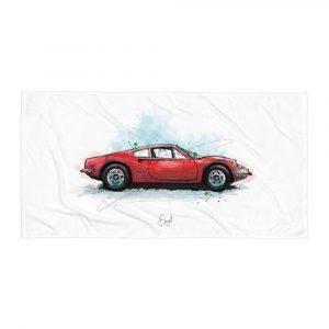 Ferrari Dino - Rosso, Towel