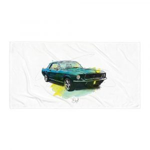 Ford Mustang - Untamed, Towel