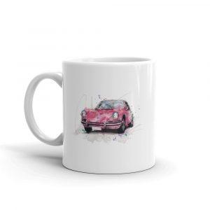Porsche 911 - Guards Red, Ceramic Mug