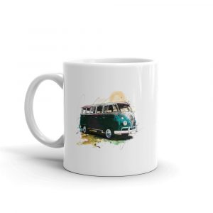 Volkswagen Campervan - Camped out, Ceramic Mug