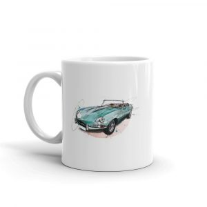 Jaguar E-Type - Convertible, Ceramic Mug