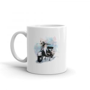 Vespa - GS, Ceramic Mug