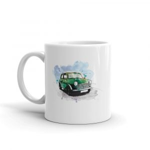 Mini - Racing Green, Ceramic Mug