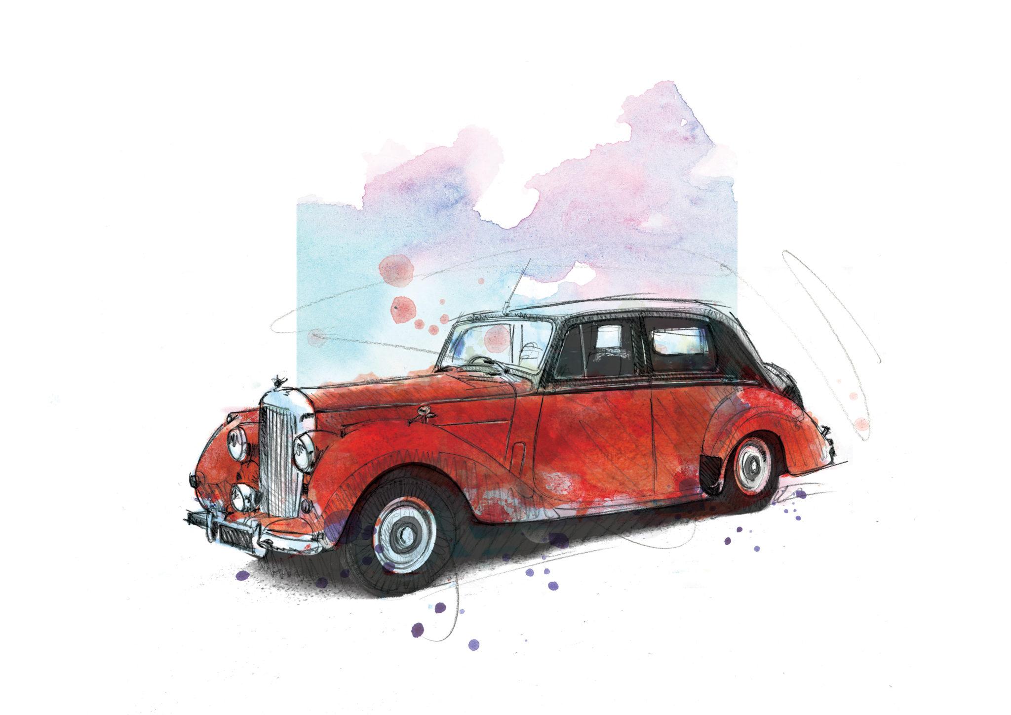 0166 Dm Bentley R Type Just My Rtype Art