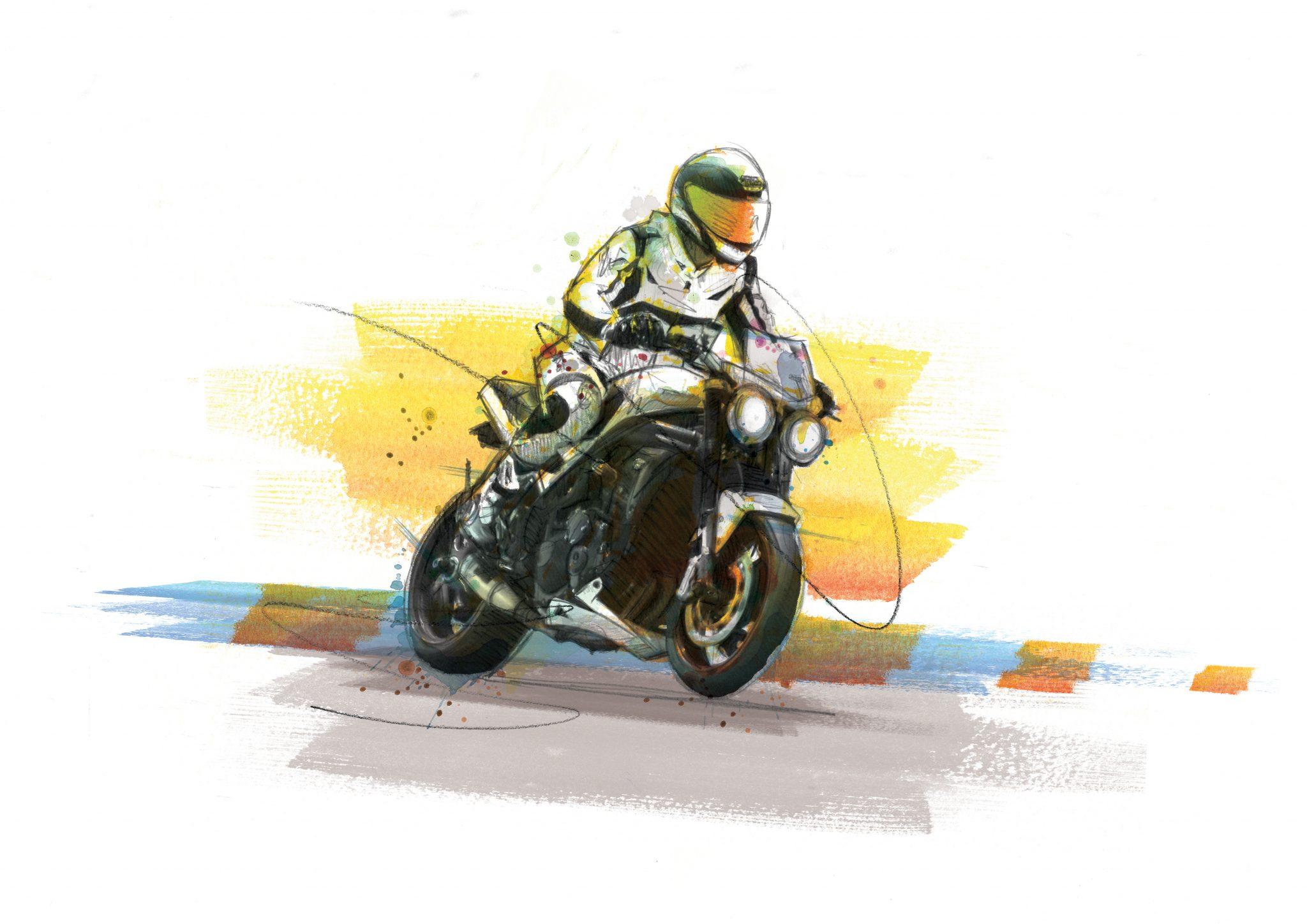 0207 Dm Triumph Speed Triple Art