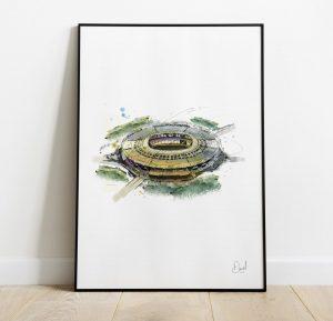 West Ham United FC - London Stadium art print