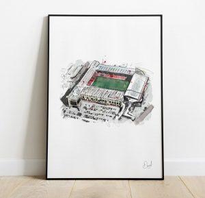 Sheffield United FC - Bramall Lane art print