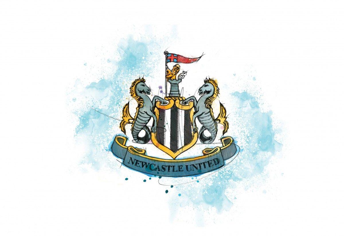 0222 Dm Newcastle United Badge Art