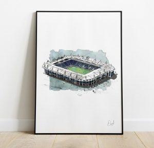 Leicester City FC - King Power Stadium art print