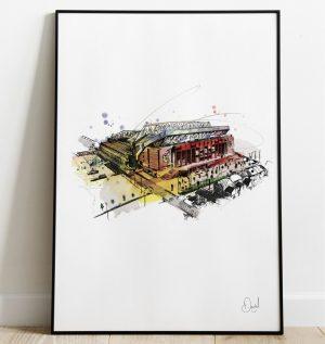 Liverpool FC - Anfield Stadium art print