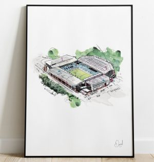 Aston Villa FC - Villa Park art print