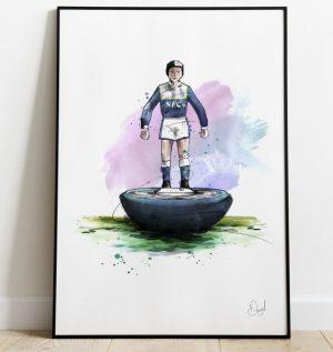 Everton - Retro Subbuteo art print