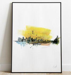 New York - Be your own Manhatten art print
