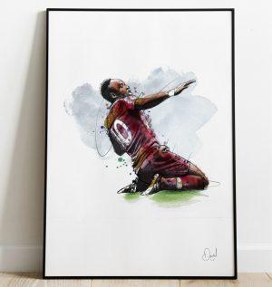 Sadio Mané - Liverpool  FC art print