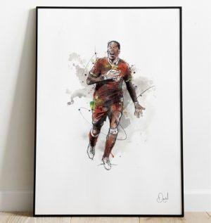 Virgil van Dijk - Liverpool  FC art print