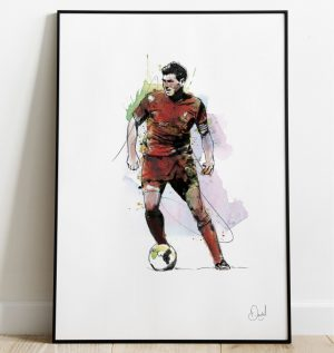 Steven Gerrard - Liverpool  FC art print