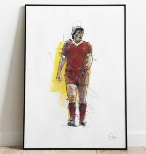 Kenny Dalglish - Liverpool  FC art print