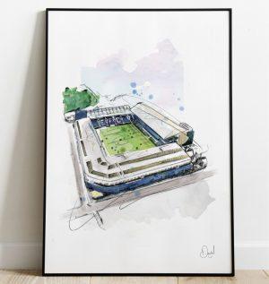 Everton FC - Goodison Park art print