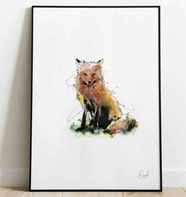 David Marston Art - Fantastic Mr Fox