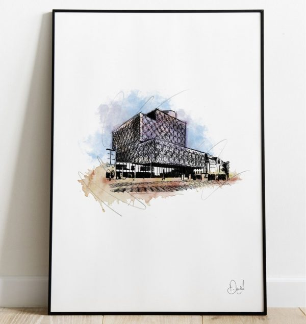 David Marston Art - Birmingham - Throwing The Book At It Web 1