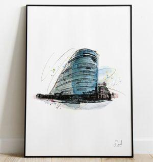 Manchester - Urbis art print