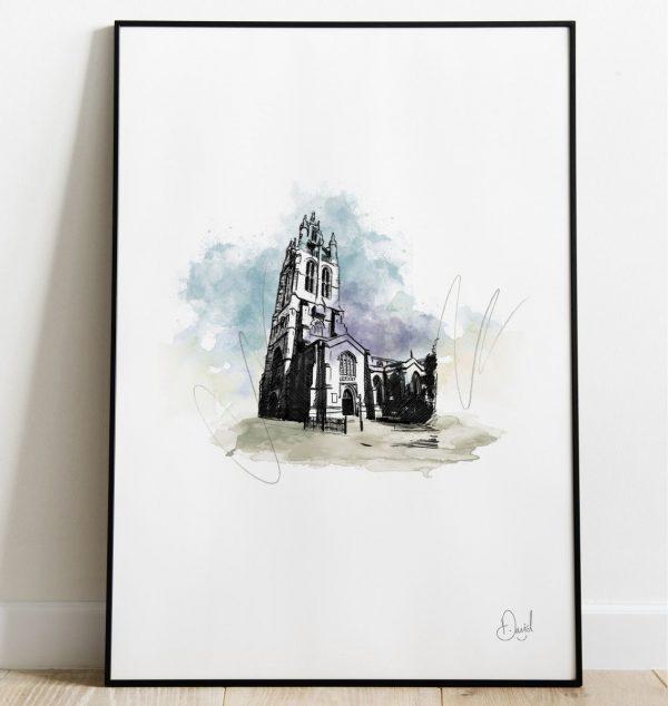 David Martson Art - Newcastle - St Nicholas Cathedral