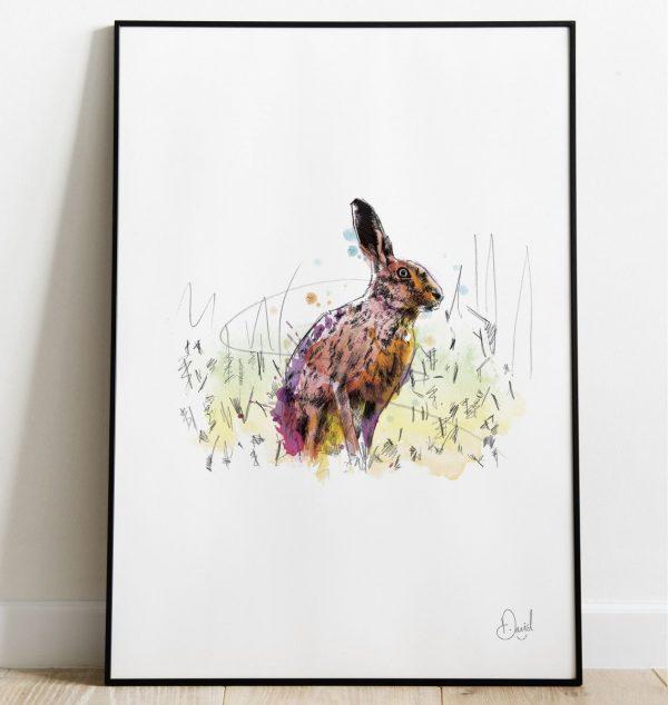 David Marston Art - Hare Brain