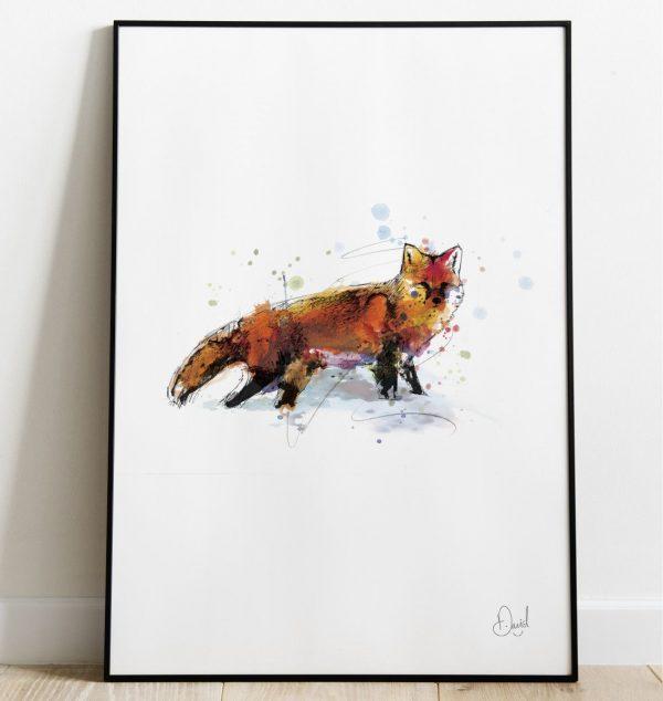 David Marston Art - Fox Sake