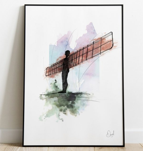David Marston Art - Newcastle Gateshead - Angel Of The North