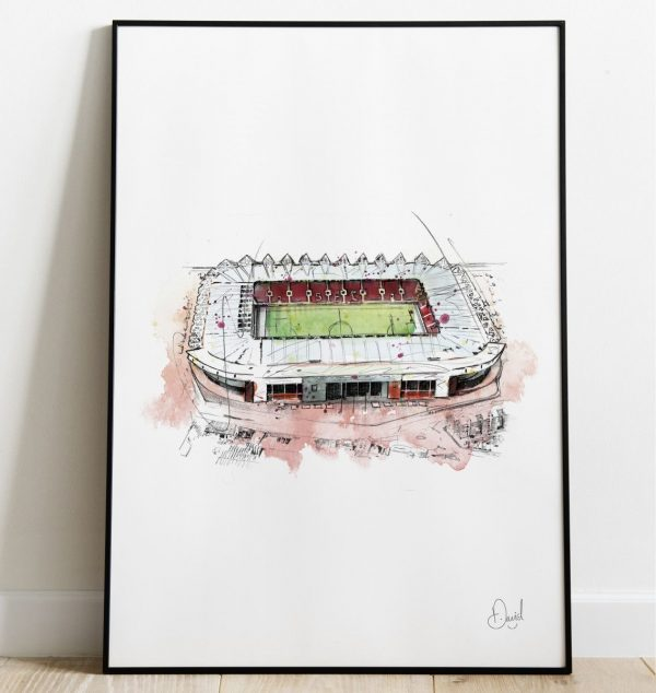 David Marston Art - Southampton - St Marys Stadium