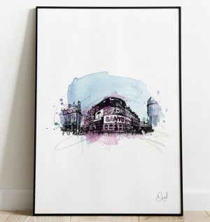 London - Piccadilly Circus art print