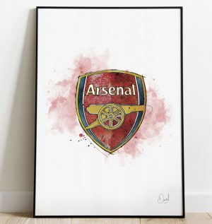 Arsenal FC Badge art print
