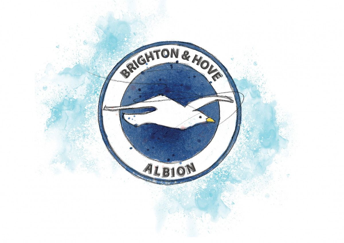 00249 Dm Brighton Badge Art