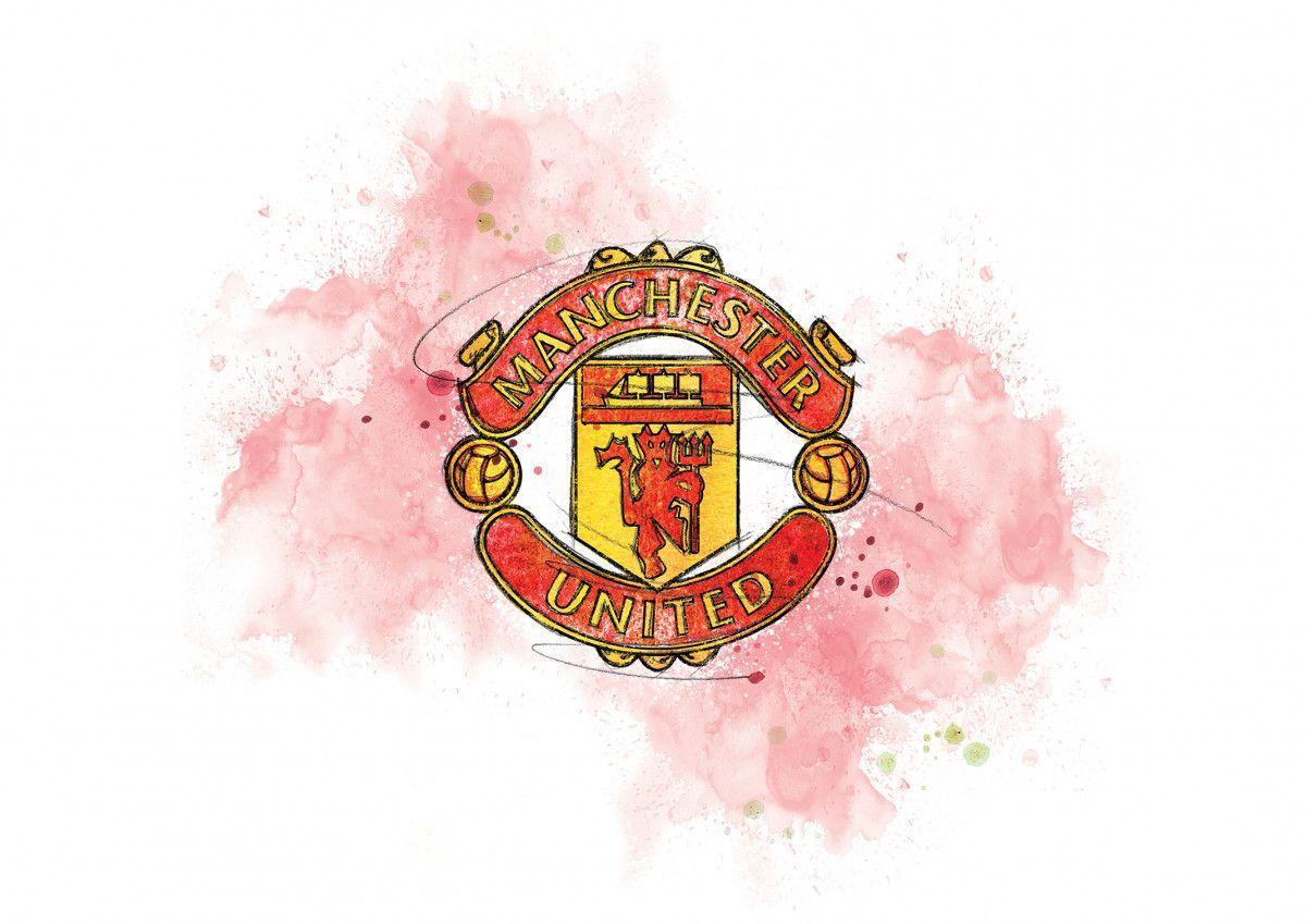 00253 Dm Manchester United Badge Art