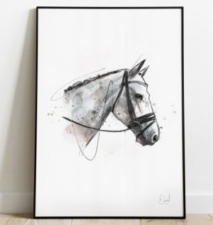 Right Said Fred - Horse art print