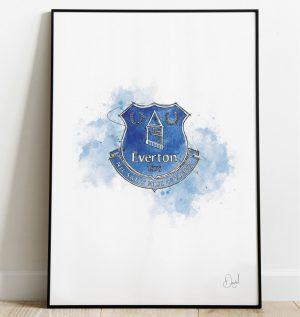 Everton FC Badge art print