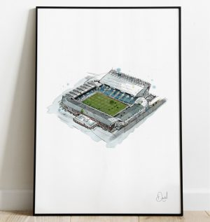 Leeds United - Elland Road Art Print